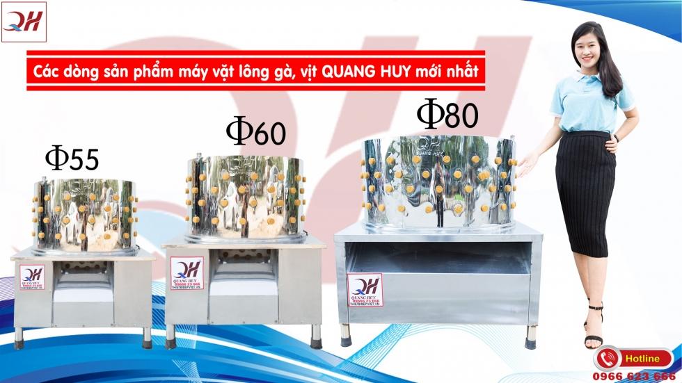 Mẫu máy vặt lông gà vịt giá rẻ tại Quang Huy