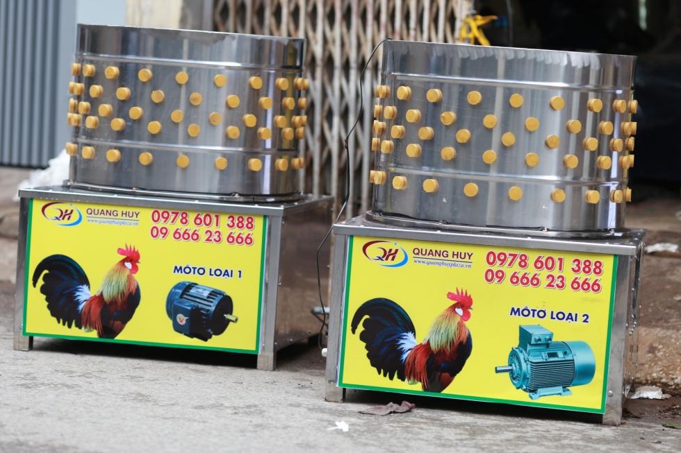 Máy vặt lông gà vịt siêu tốc tại Quang Huy cung cấp.   