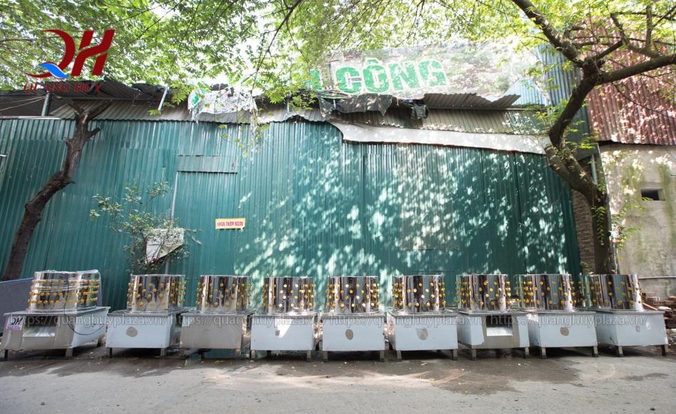 Sản phẩm máy vặt lông gà tại Quang Huy