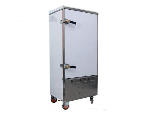 Tủ cơm công nghiệp 12 khay chạy gas