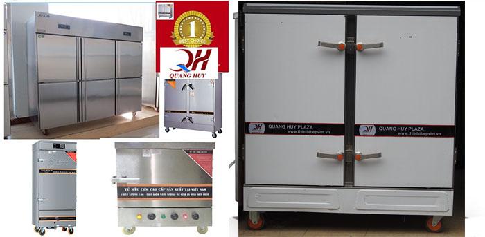 Mẫu tủ nấu cơm công nghiệp bằng điện tại Quang Huy cung cấp